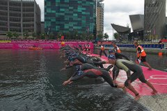 Salford Triathlon Start